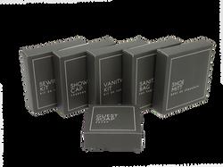 Grey Boxed Amenities