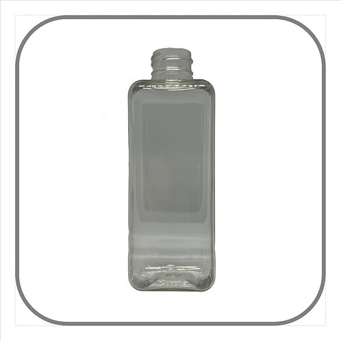 200ml Clear Square Bottle
