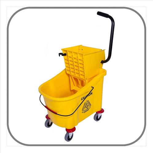 36L Econo Single Mop Bucket on Castors