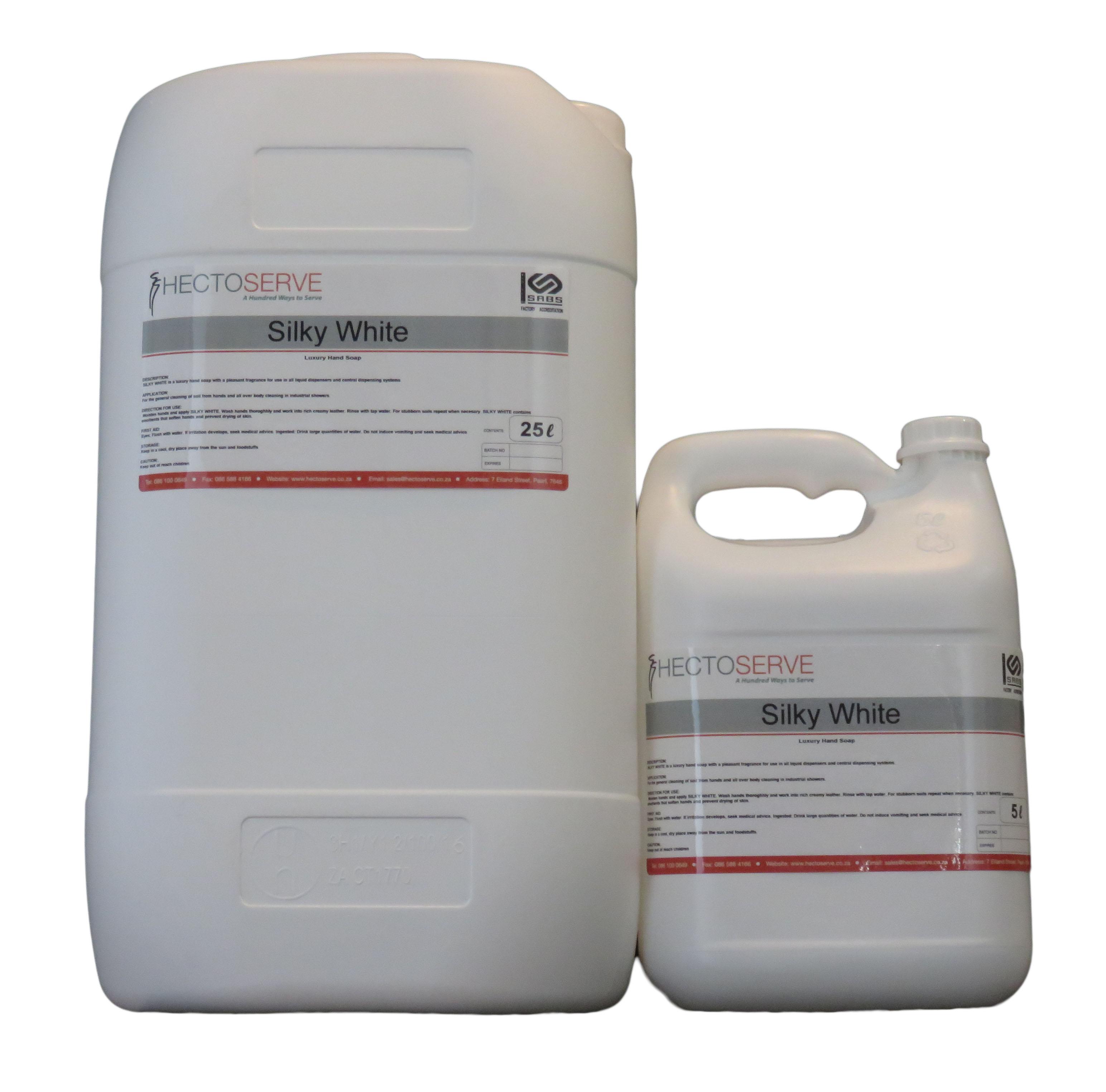 Silky White Liquid Hand Soap