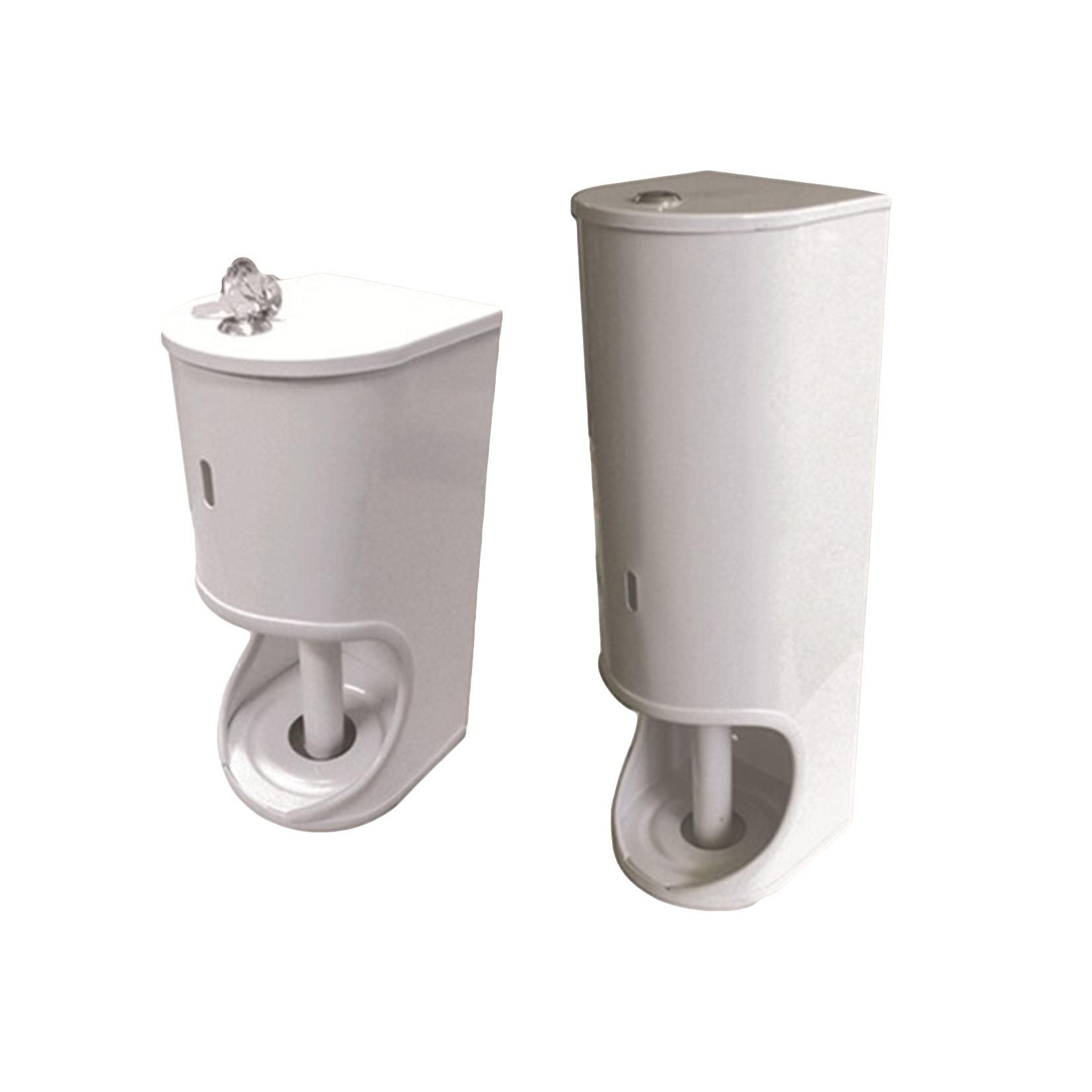 Hectoserve Toilet roll dispenser white