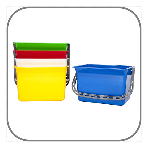 6L Heavy Duty Plastic Bucket