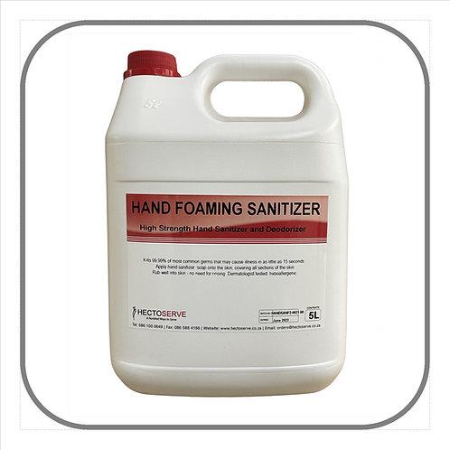 Hand Foaming Sanitiser 5L