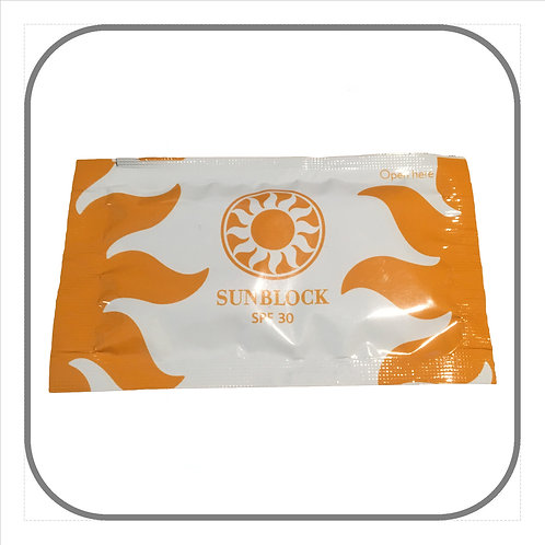 Sun Block Sachets (x 50)