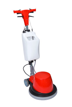 Polisher with Solution Container