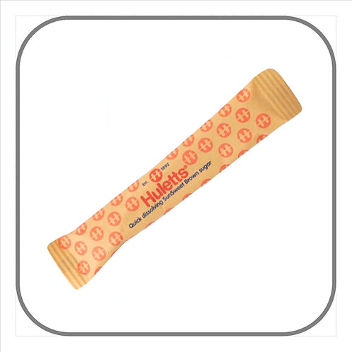 Brown Sugar Tubes 5g x 1000
