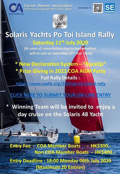 Solaris Yachts Po Toi Island Rally - Pos