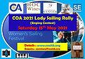 COA 2021 Lady Sailing Rally (Singing Con