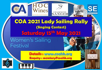 COA 2021 Lady Sailing Rally (Singing Con