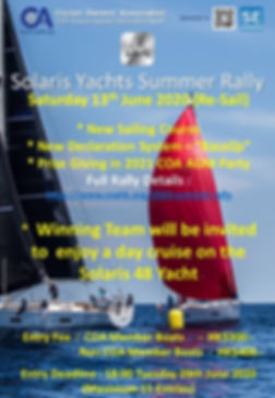 Solaris Yachts Summer Rally (R) - Poster