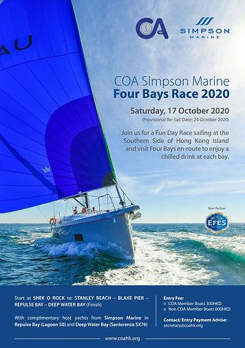 COA Simpson Marine Four Bays Race 2020.j