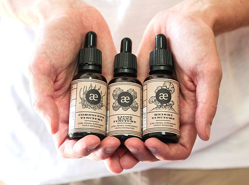 Medicinal Trinity Special - reishi, cordyceps & lions mane