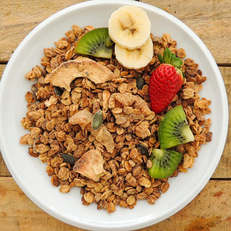 Vanilla & Pear Superfood Granola