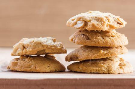 cookies intergais feitos com castanha do pará sem glúten
