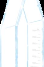 FRASCO DE CULTURA DE CÉLULAS ADERENTES, 175CM2, TAMPA VENTILADA (COM FILTRO)