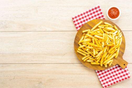 batata frita tem muito mais calorias quando frita, como comer melhor usando frituras