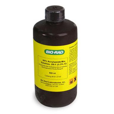 30% acrylamide/bis-acrylamide, 29:1