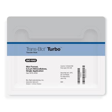 Trans-Blot® Turbo™ Mini Nitrocellulose Transfer Packs, 7 x 8.5 cm