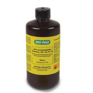40% acrylamide/bis-acrylamide, 37.5:1