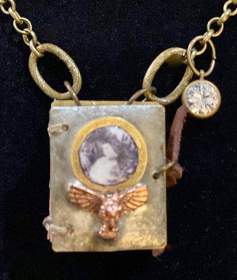 heARTwork Journal Pendant - OWL