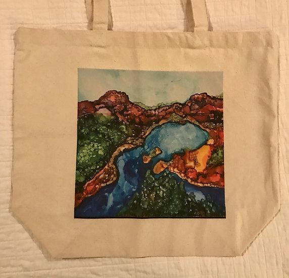SoulScape Canvas Bag