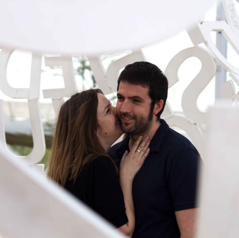 Couples UK engagement wedding prewedding portrait photoshoot photography love Barcelona