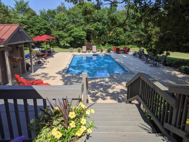 Heated Pool Year Round