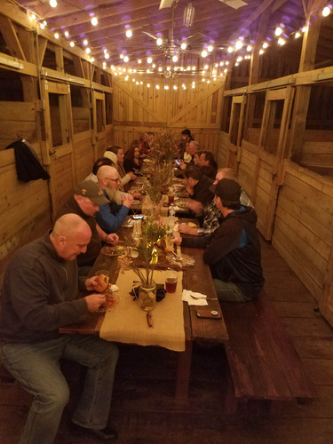 Dinner in the Stable