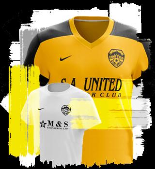 SA United uniform - 2005
