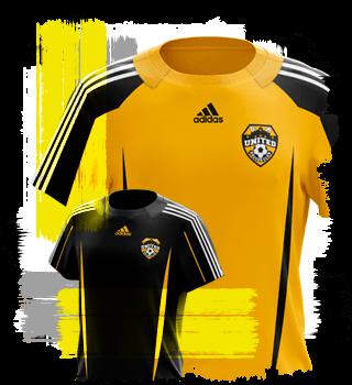 SA United uniform - 2012