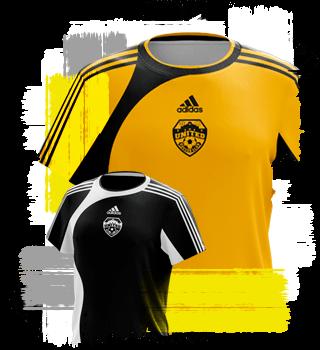 SA United uniform - 2010