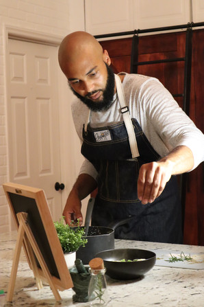 Chef Bill of No Garnish Brand Photoshoot