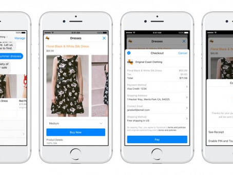 Messenger支付平台發展到亞洲地區