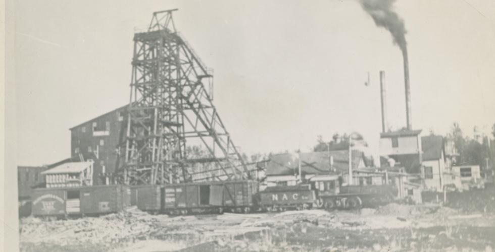 Evansburg Coal Mine