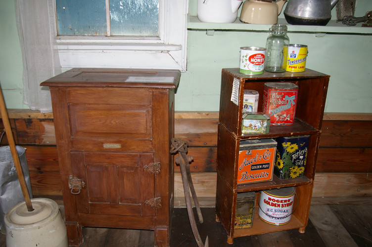 Provisions in the old days