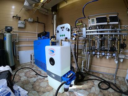 Оборудование для промывки систем отоплен