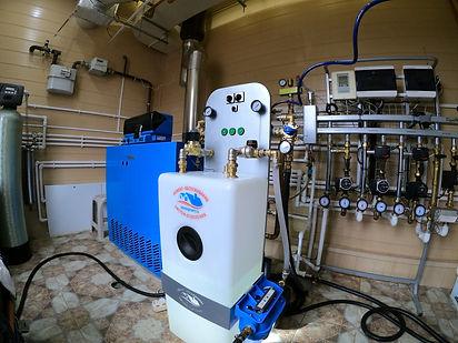 Промывка систем отопления безопасная - б