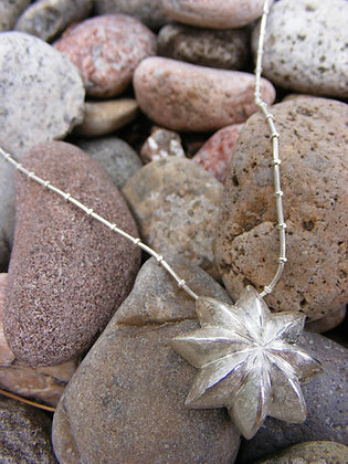 Large Star Anise Pendant on Chain
