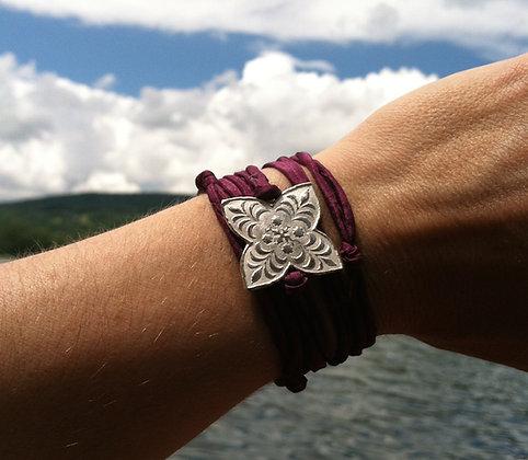 Quadrillion Medallion Wrap Bracelet
