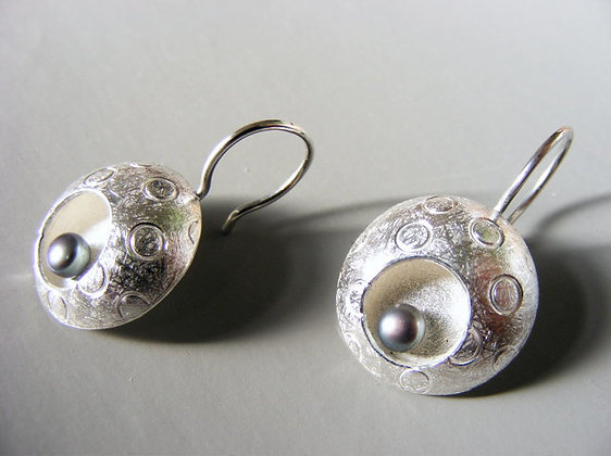 Bubbles & Waves Drop Earrings