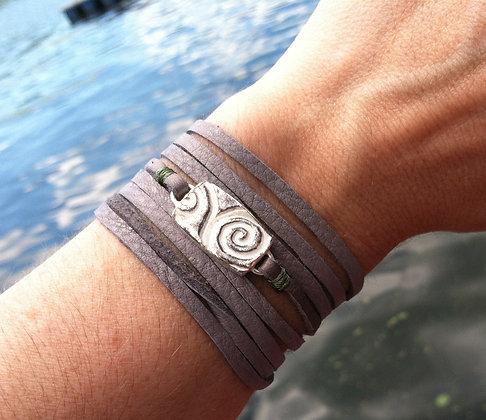 Tide Pool Wrap Bracelet