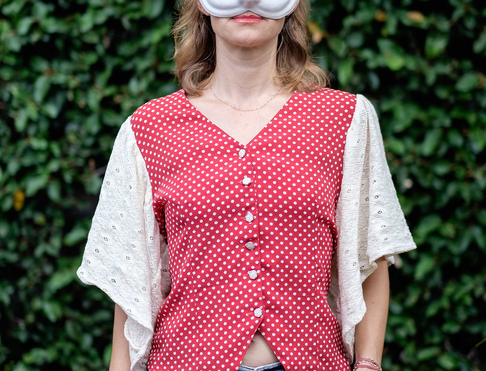 Chemisier Thelma dot Taille S/M
