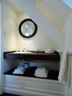 Renard, la salle de bain