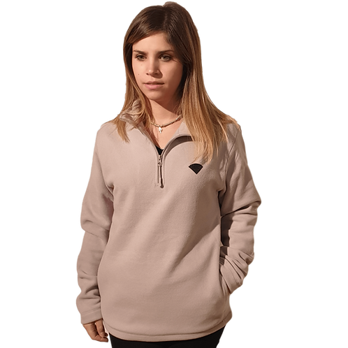 Sweat col zippé 300gr ABERE