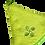 Thumbnail: Essuie mains rond vert