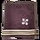 Thumbnail: Essuie mains carré gris foncé
