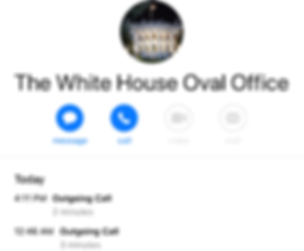White House Phone Contact 26 January 202
