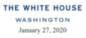 Supported by The White House Jan. 27 202