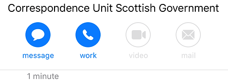 Confirmed by Scottish Government of Bank