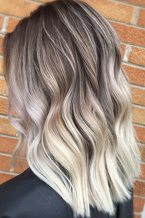Balayage and Toner